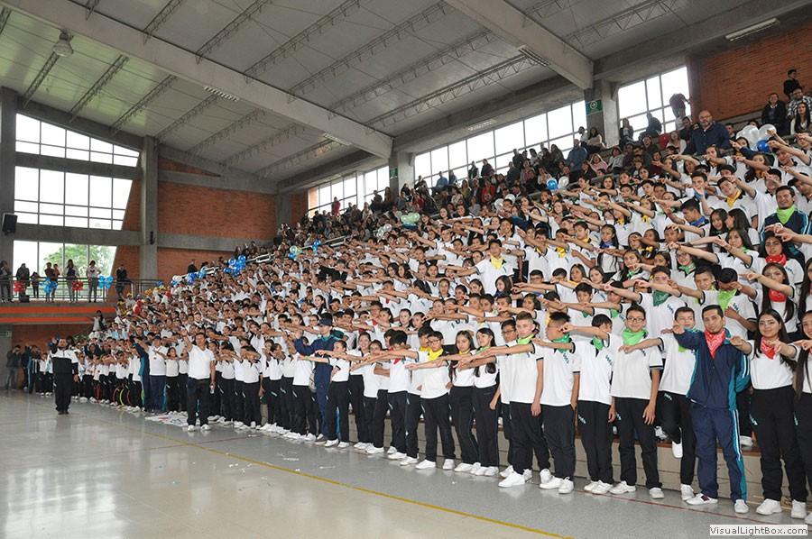 Niños en olimpiadas