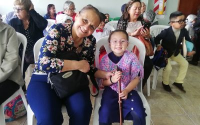 Celebración día de los abuelitos