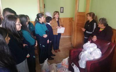 Visita hogar geriátrico – Hermanitas de los Pobres