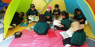Rincón Lúdico – Camping con la lectura – Mayo 2019